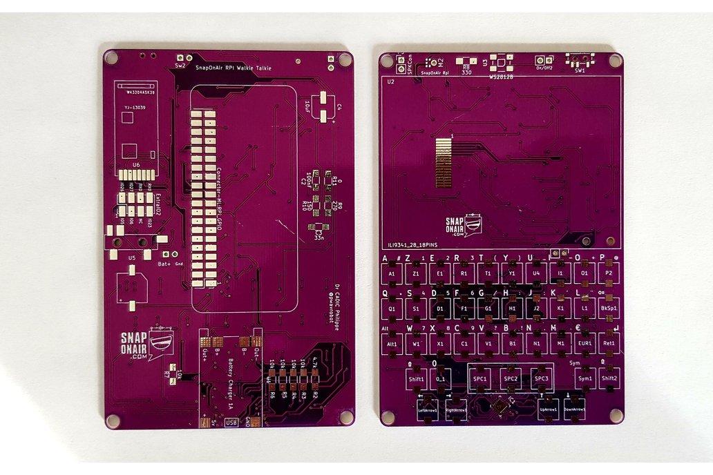 SnapOnAir Raspberry PI ZERO PCB 1