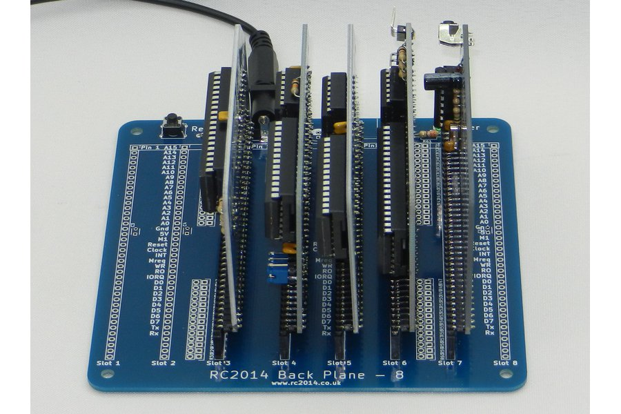 RC2014 Plus - Homebrew Z80 Computer Kit