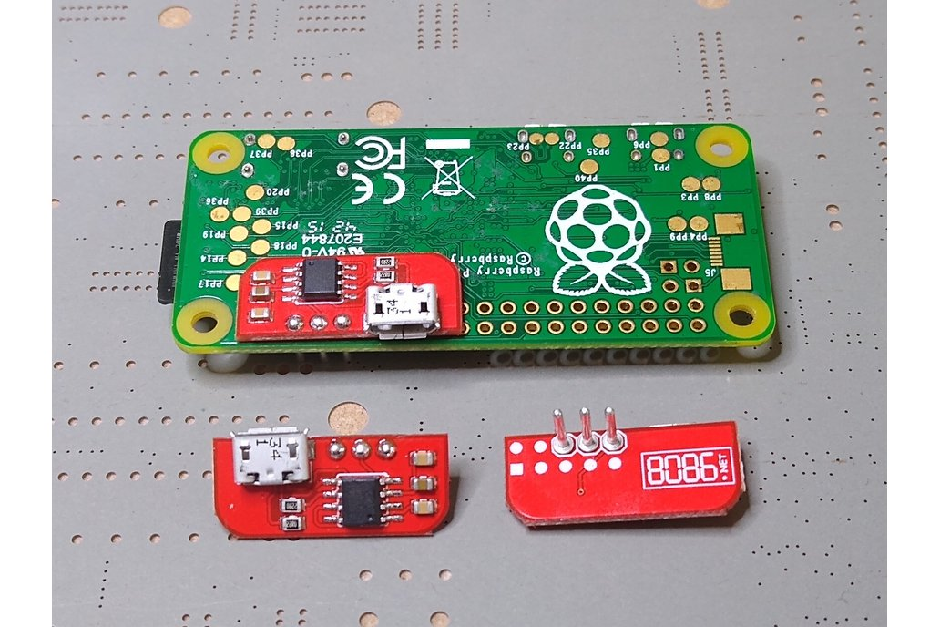 Solderless Serial to USB adapter for RPi (CDC) 1