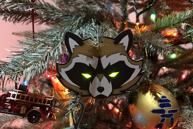 BadgeLife Trash Panda Kit - Holiday Edition