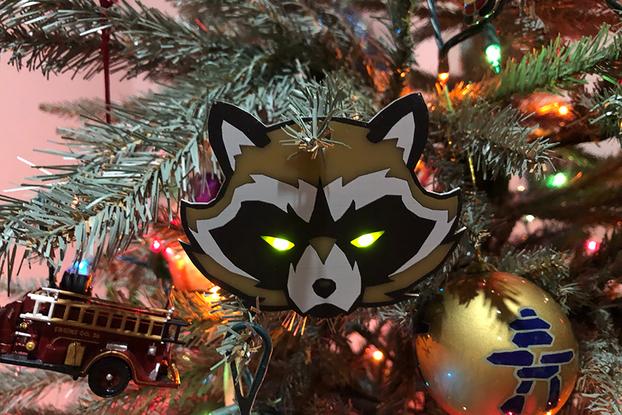 BadgeLife Trash Panda Kit - Holiday Edition