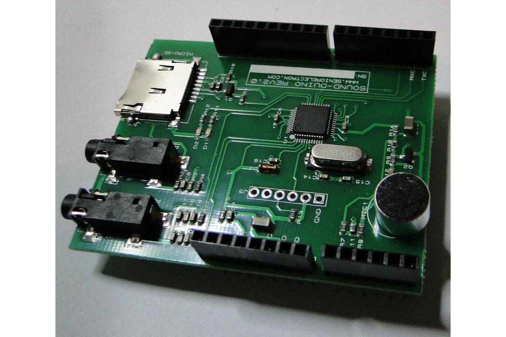 SoundDuino , Audio Shield for Arduino 8