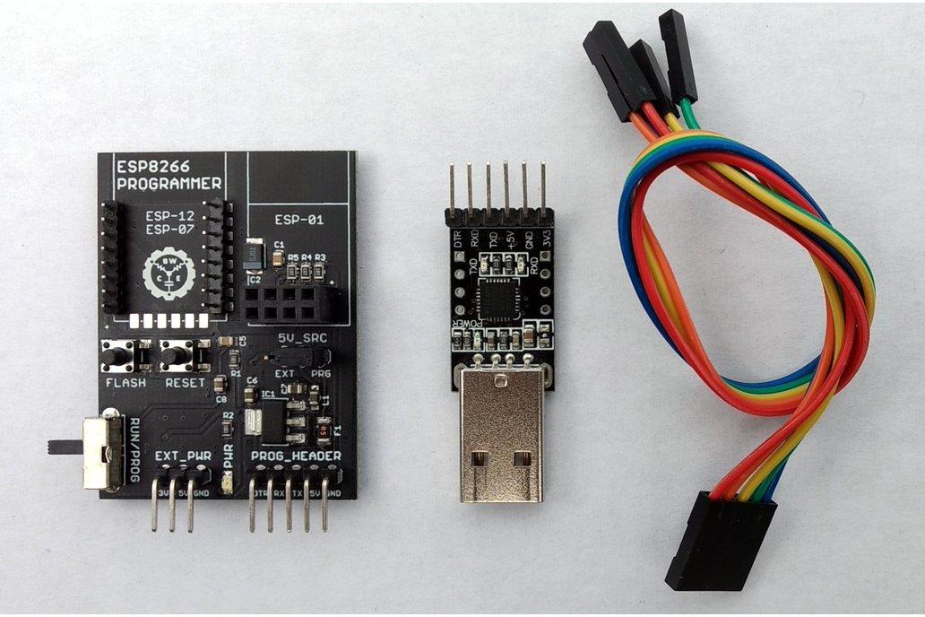 ESP8266 Programmer with USB-Serial Adapter - V3.0 1