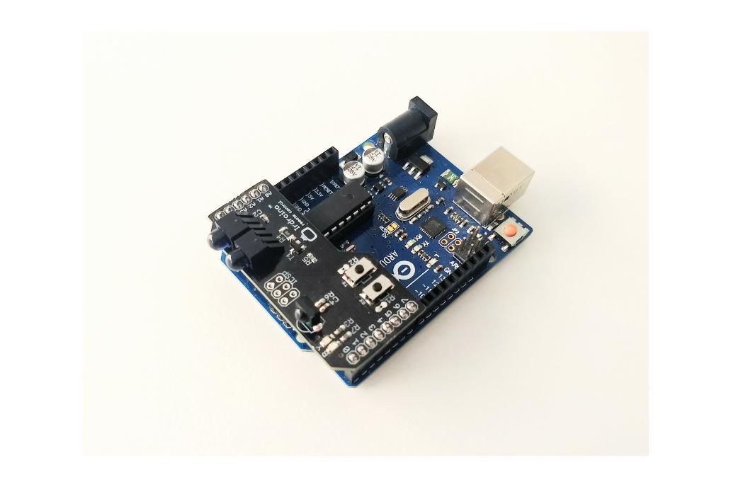 Irdroino Infrared (IR) Shield for Arduino 4