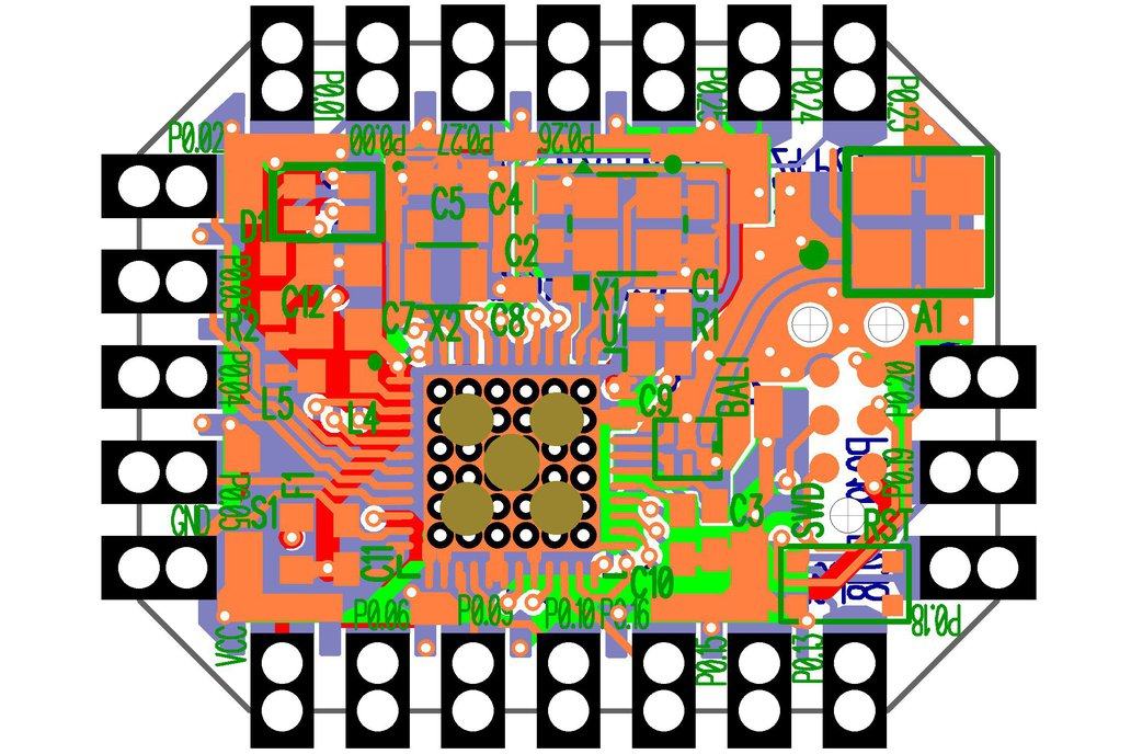 3dB BLE Bluetooth Flex Module 6