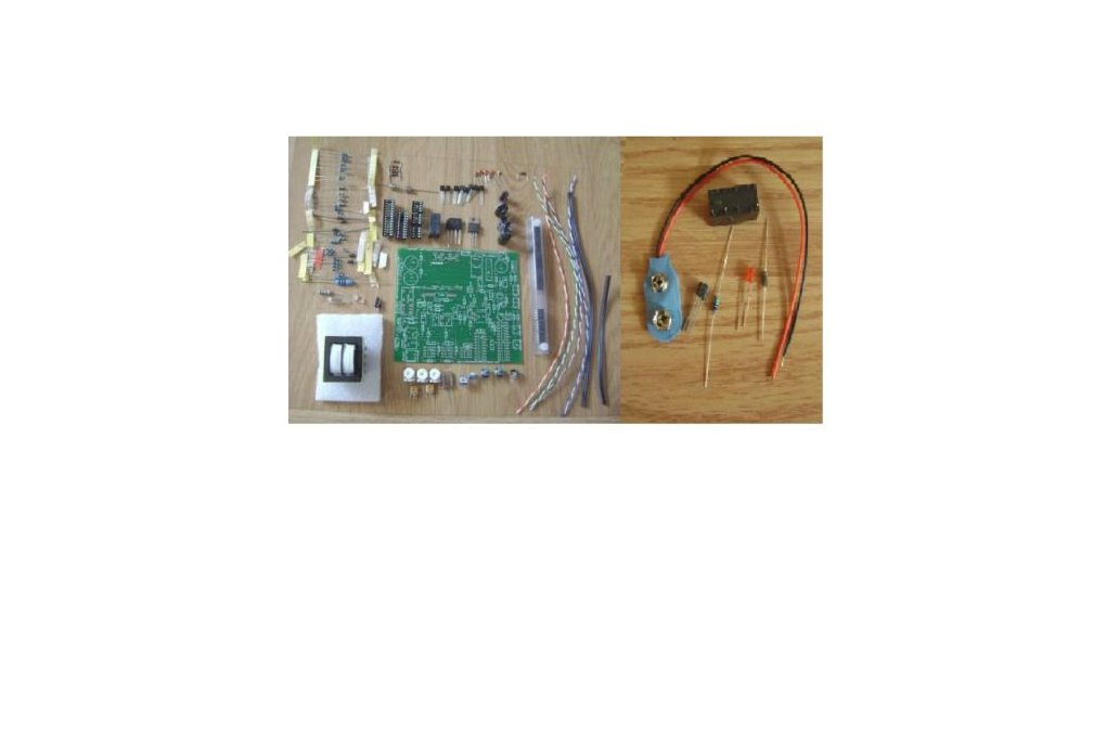 Oscilloscope Clock Kit for many CRT types 2