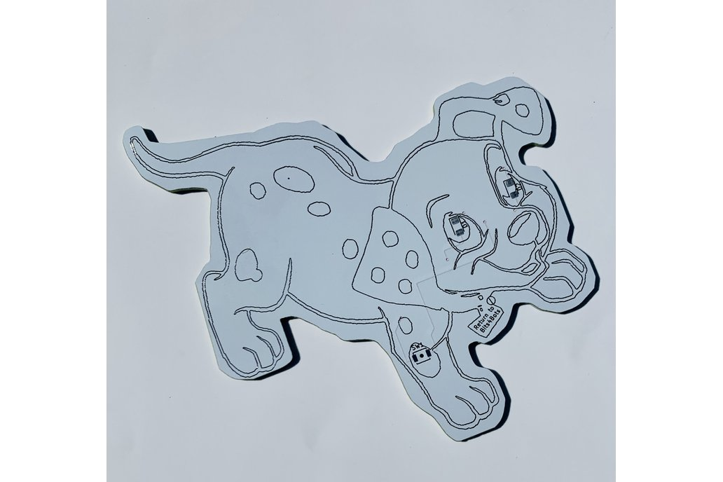 Badge Life - DIY Doggy Blink Badge 1