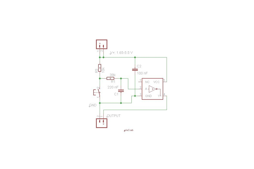 Switch board with debouncing circuitry 2