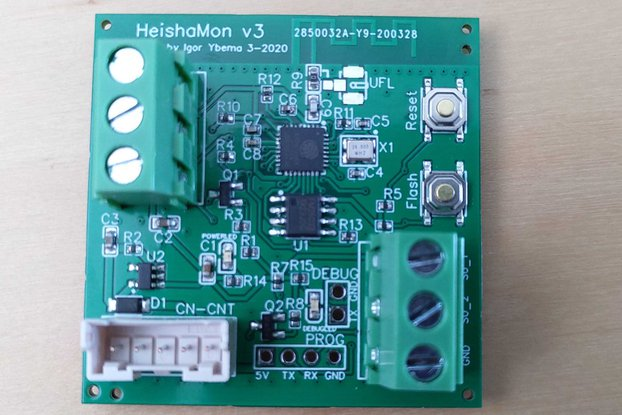 HeishaMon v3 communication PCB