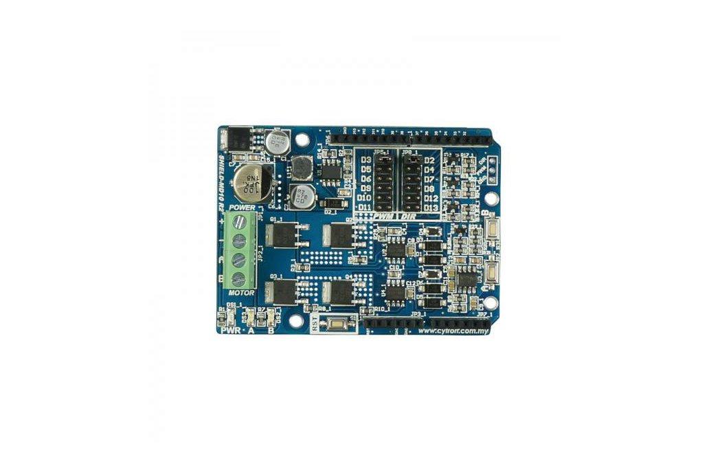 Cytron 10A Motor Driver Shield (Arduino) 1