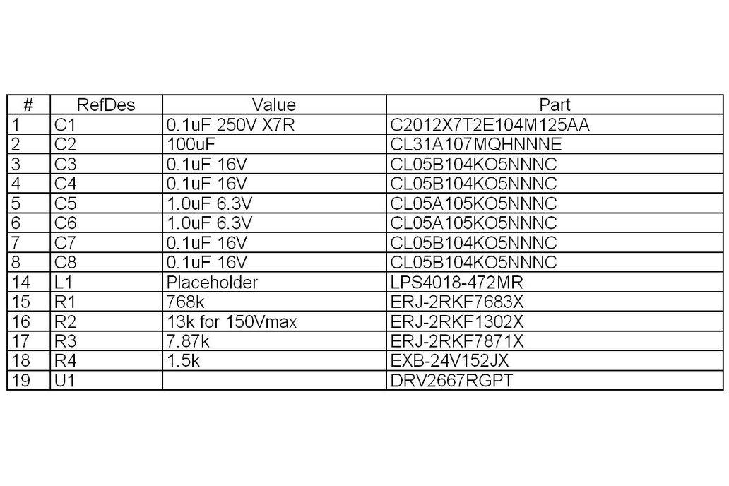 Piezo Haptic Flex Module 4