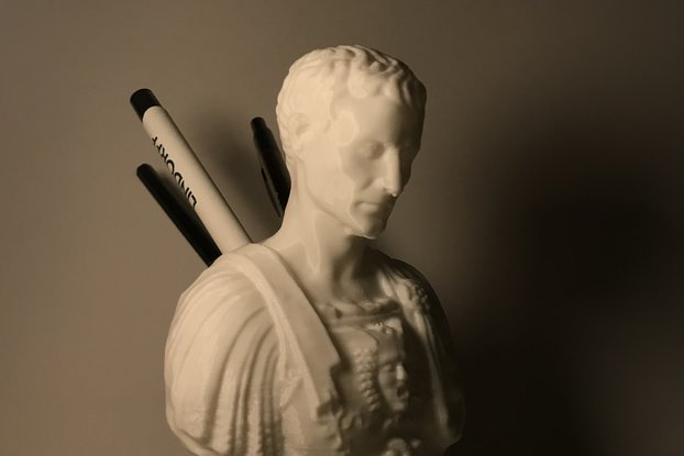 Julius Caesar 3D Printed Pencil/Pen Holder