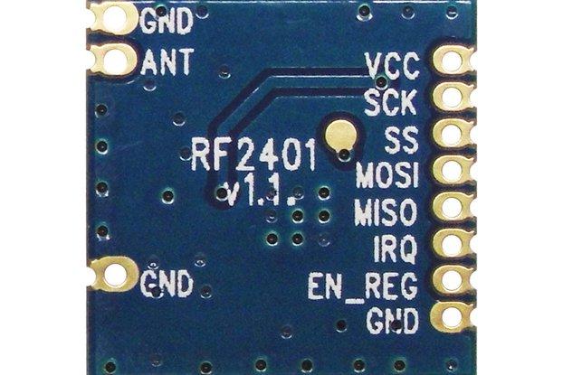 2pcs 2.4G wireless transceiver module RF2401