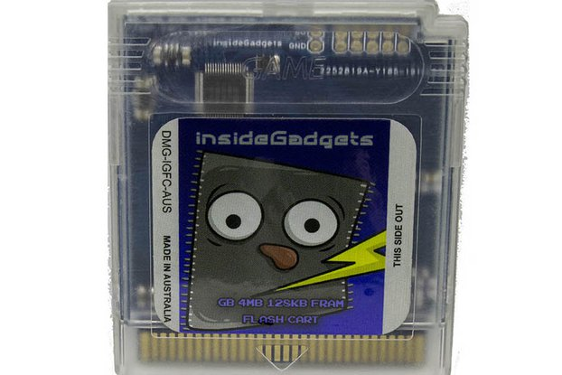 Gameboy 4MB 128KB FRAM Flash Cart