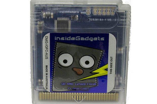 Gameboy 4MB 128KB FRAM Flash Cart