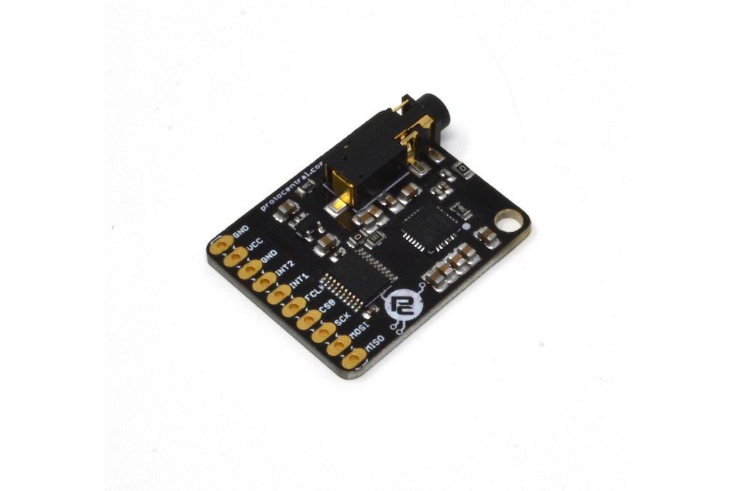 MAX30003 Single-lead ECG Breakout Board 4
