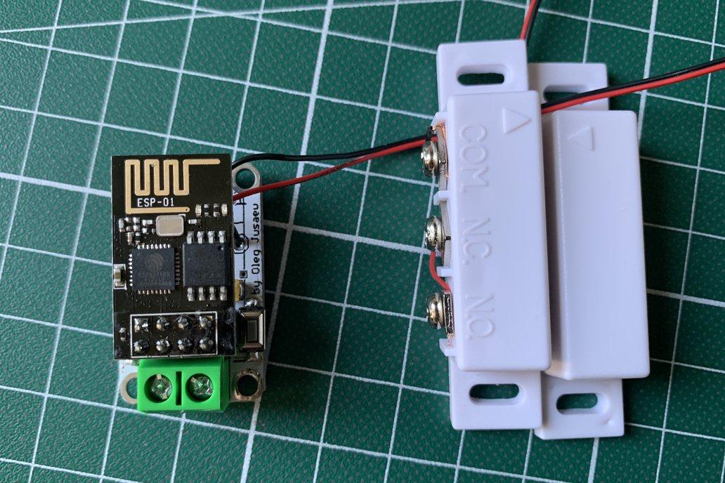 TeHyButton Mini, WIFI Open Door Sensor 1