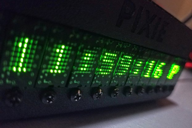 PIXIE - Chainable, Dual 5*7 Micro-LED Displays!