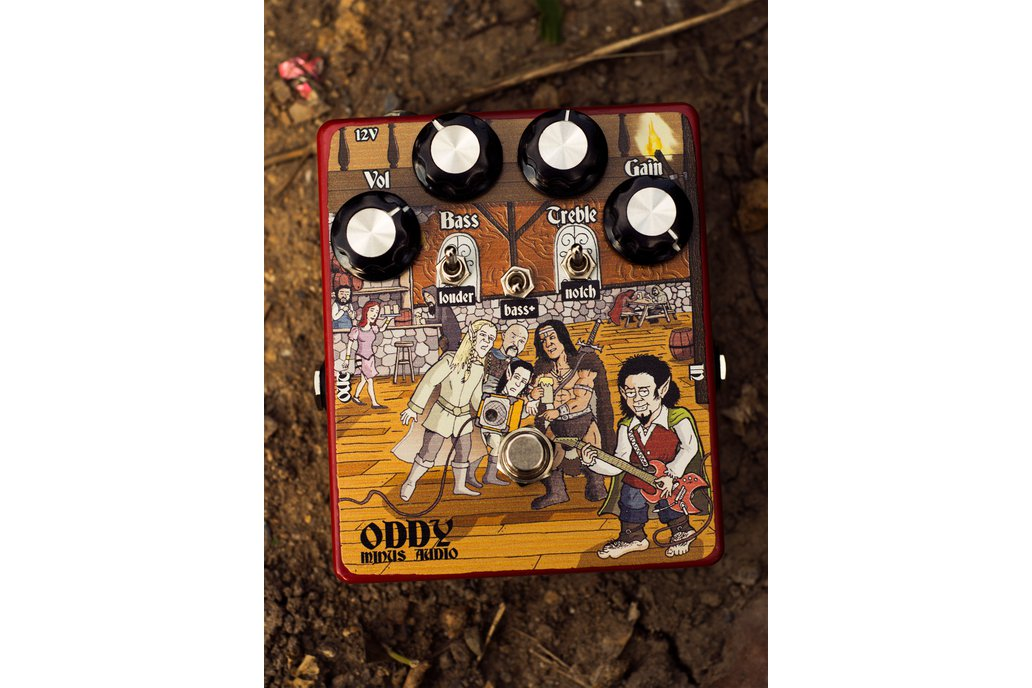 Oddy Guitar Overdrive Pedal 1
