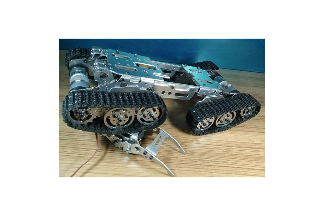 Obstacle Avoidance barrowland  Tank Chassis 4