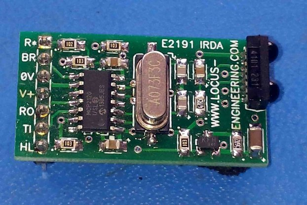 E2191 Serial to IRDA Transceiver