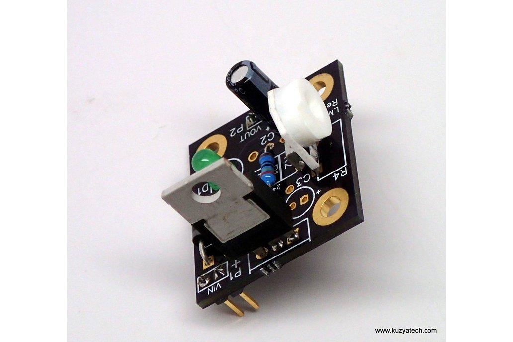 Adjustable LM317 kit, Arduino pre-regulator 4
