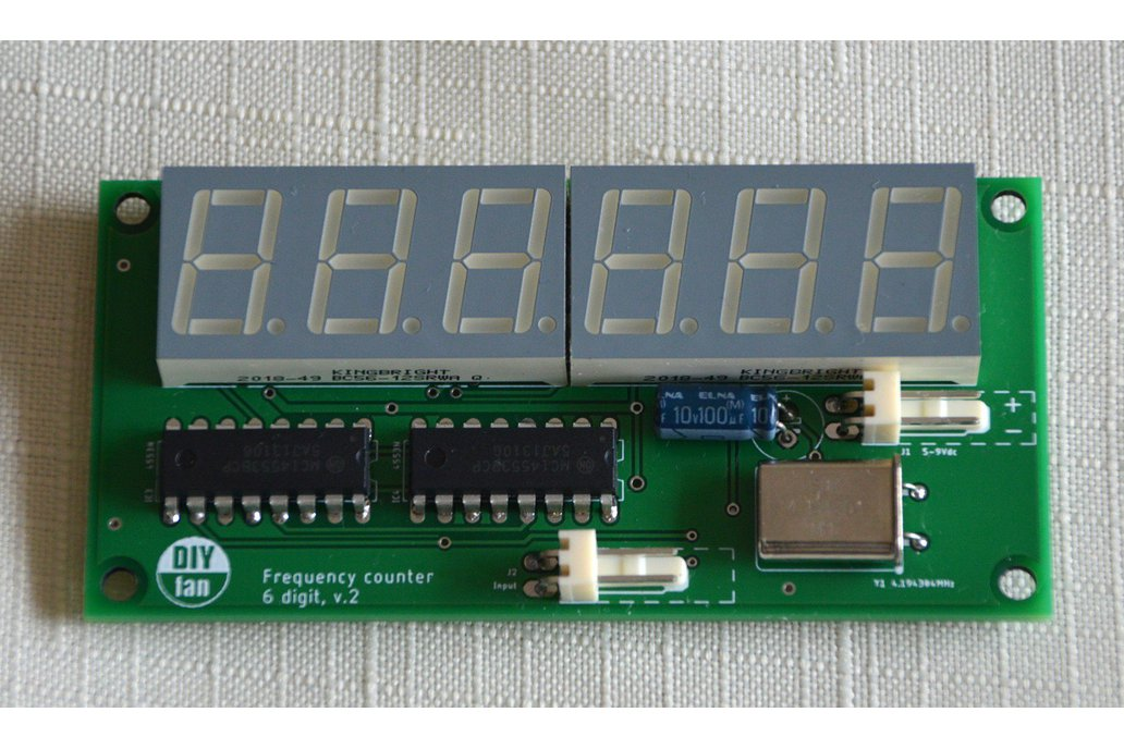 6-Digit Frequency Counter 1