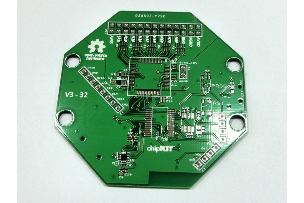 Bare PCB for OpenBCI 32bit Board Kit (8-channel) 1