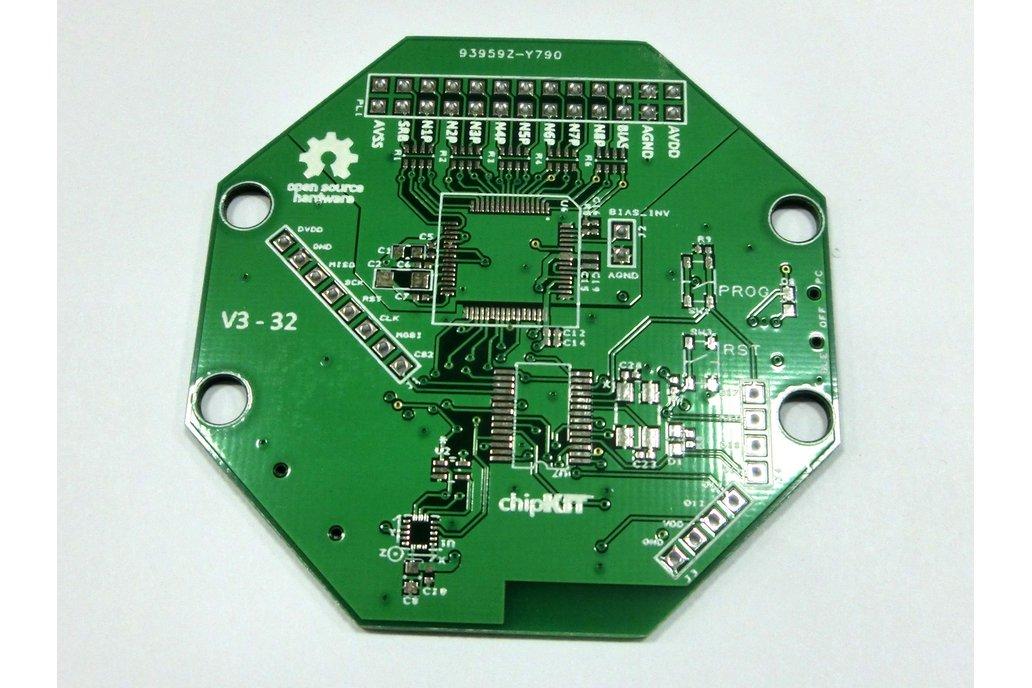 Bare PCB for OpenBCI 32bit Board Kit (8-channel) 1