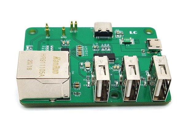 Raspberry Pi Zero W USB to RJ45 HUB Ethernet