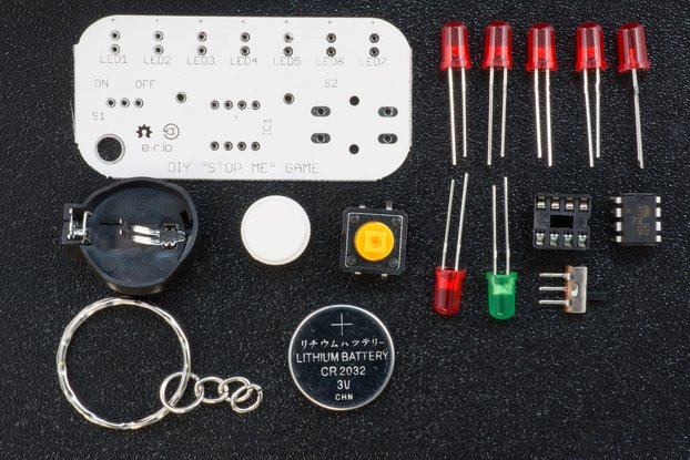 STOP ME GAME - DIY Learn to solder KIT