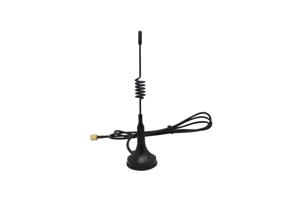 2PCS 433MHz/868MHz 3.0dBi Gain Sucker Antenna 1