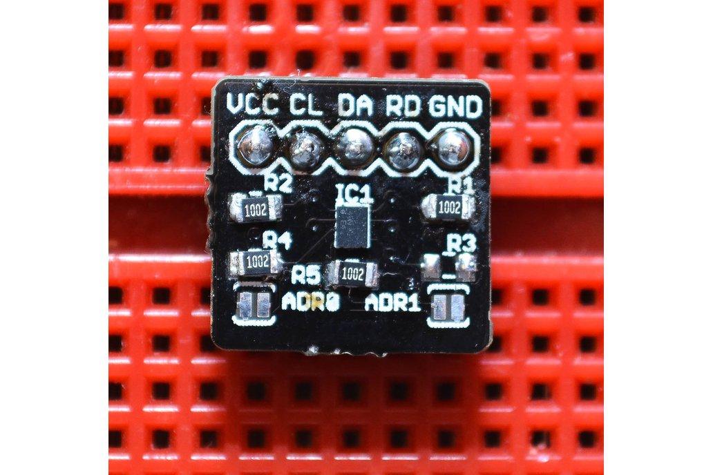 HDC1000: tiny temp / humidity sensor (PCB only) 1