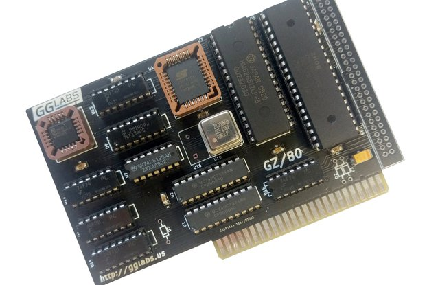 GZ/80S - 20MHz Z80 CP/M card for Apple IIe IIgs