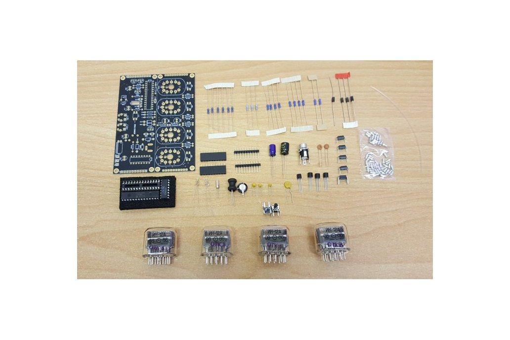 Nixie Tube Clock Kit with IN-12 Tubes 2