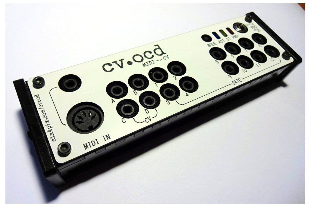 CV.OCD - A super flexible MIDI to CV box 2