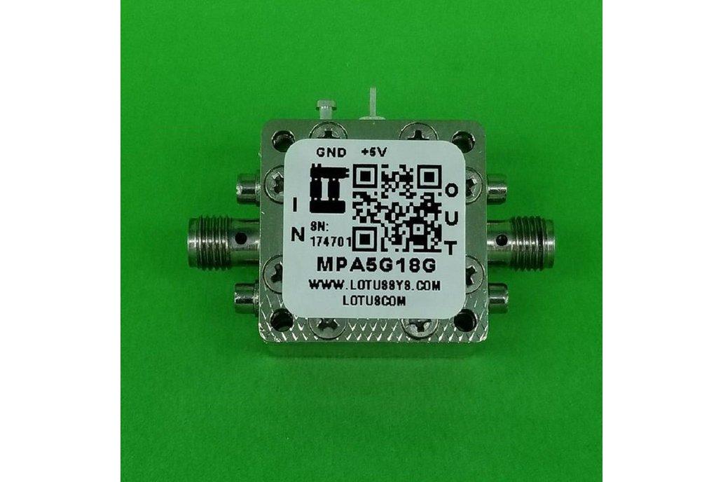 MEDIUM POWER AMPLIFIER 7.0DB NF 5GHZ TO 18GHZ 18DB 1