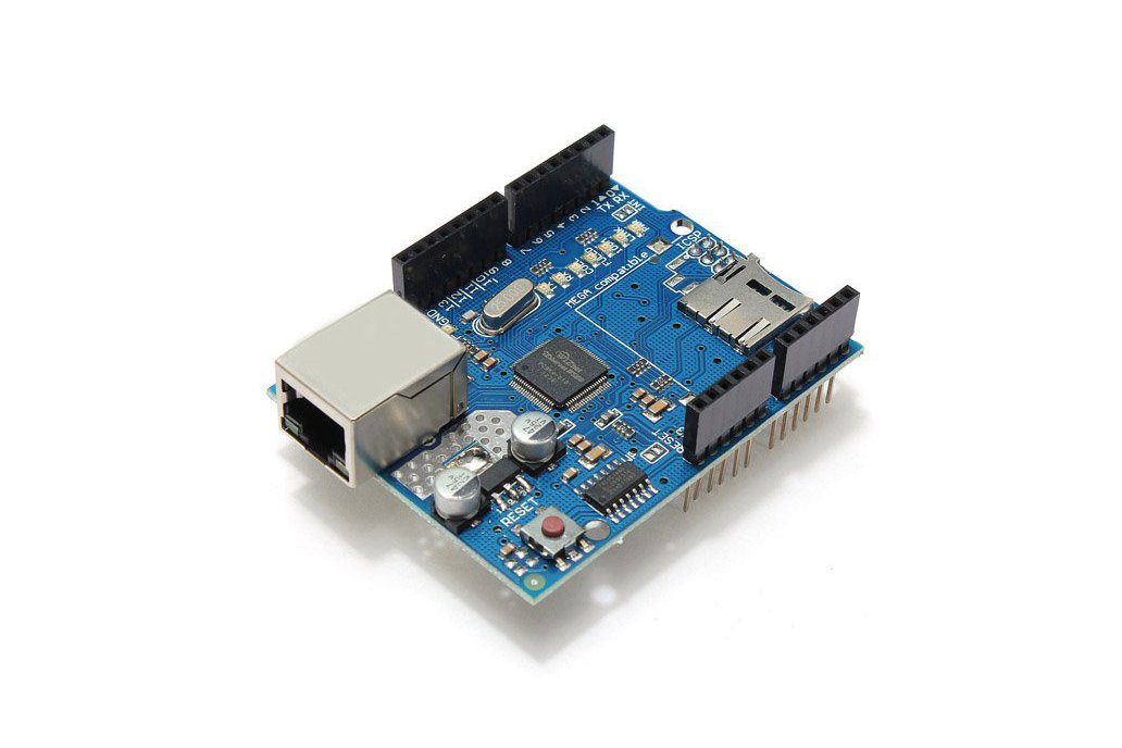 Ethernet Shield Module W5100 Micro SD Card Slot For Arduino UNO MEGA