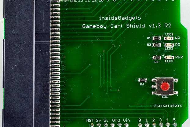 Gameboy Cart Shield