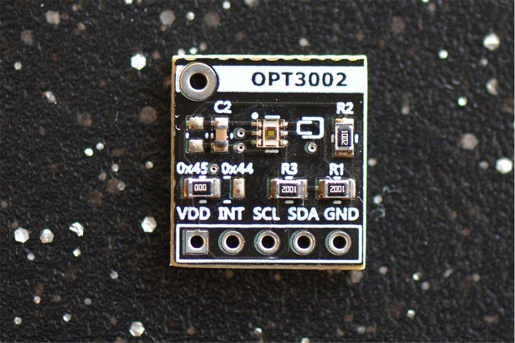 OPT3002 Light to Digital Sensor 1