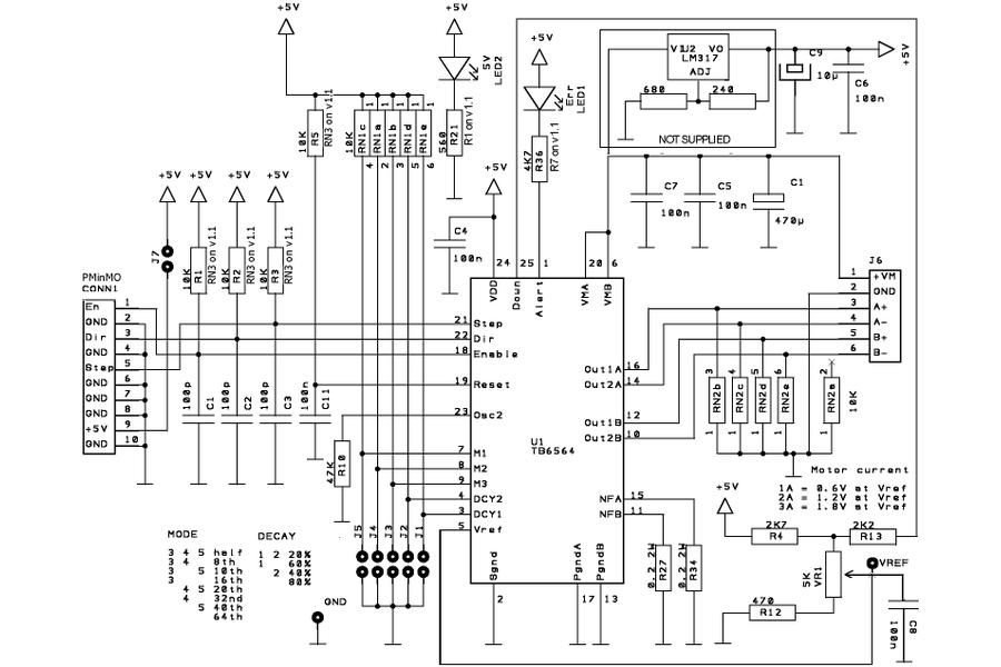 Build HUGE 3D printers 200Watt Stepper Driver Kit
