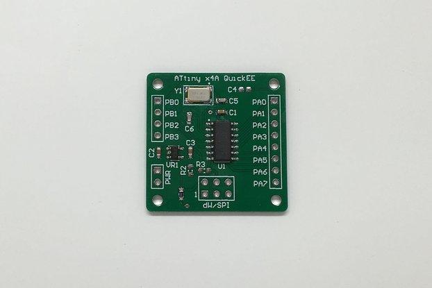 Atmel ATtiny x4A QuickEE Proto Board