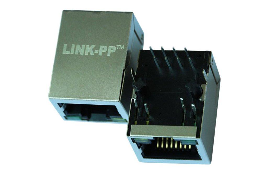 J00-0045NL 10 / 100 Base-T RJ45 Female Connector 1