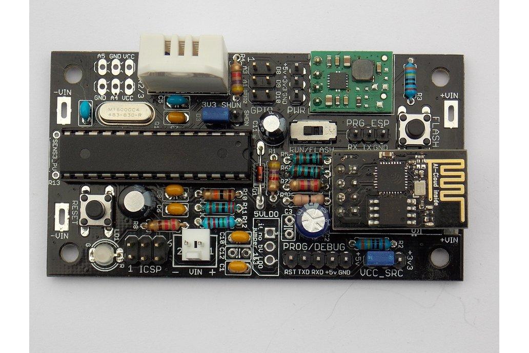 Battery-Powered Wifi Temp/Humidity Sensor (v1.21B) 2
