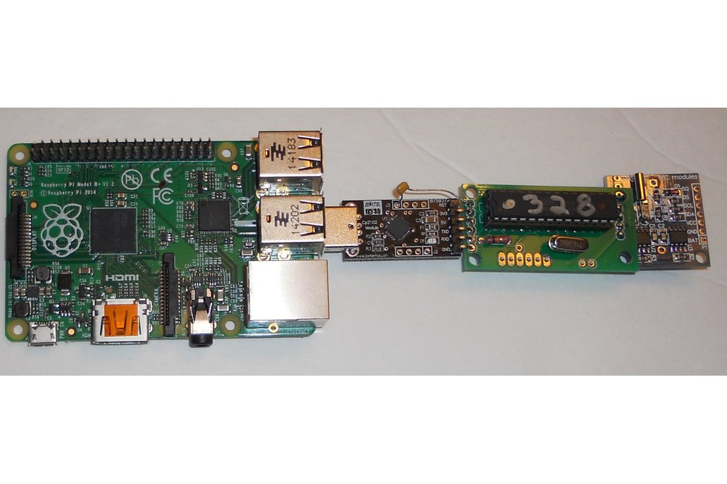 USB real time clock for raspberry pi 1