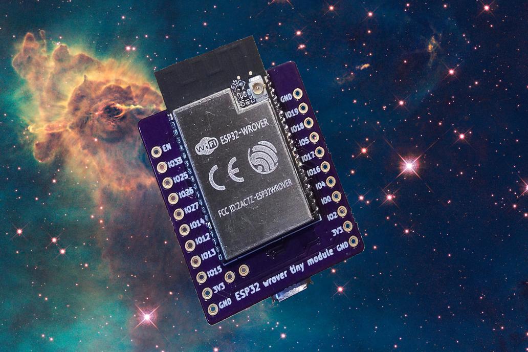 Tiny ESP32 WROVER pSRAM board 7