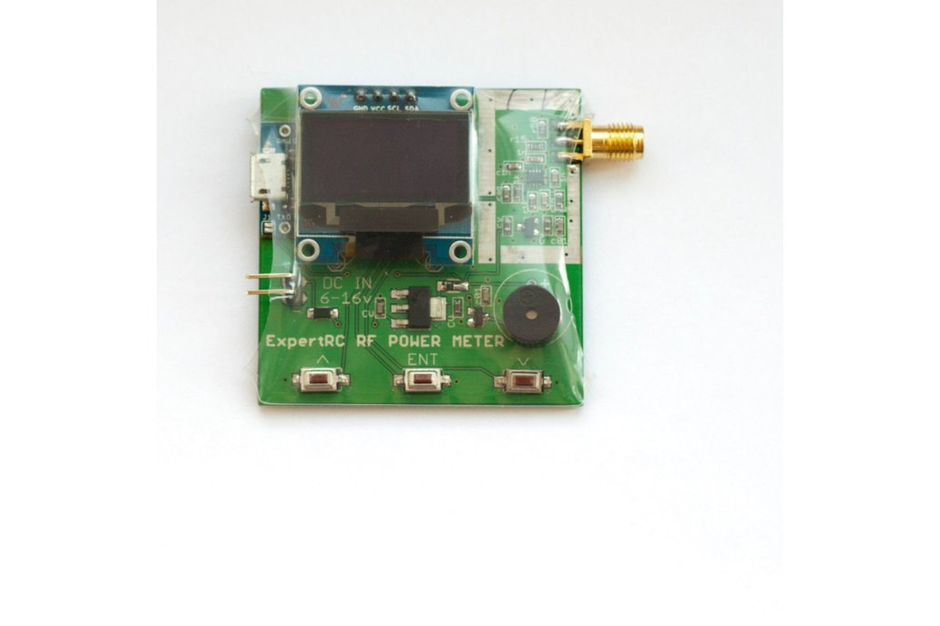 RF Power Meter 27 -  5800 mhz arduino ad8319 FPV 1