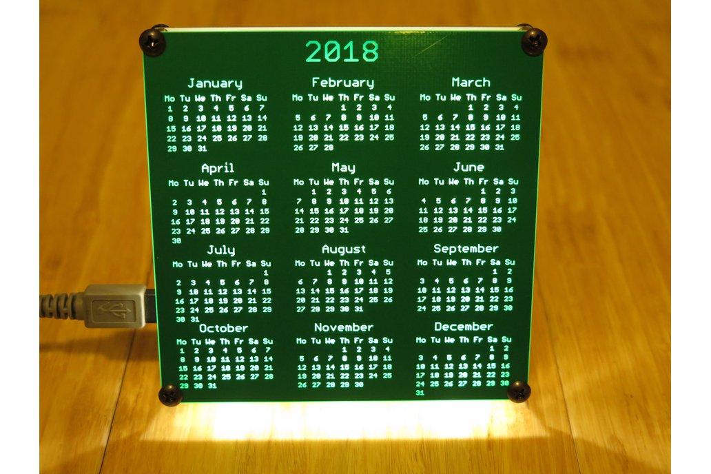 PCB Calendar 2015, 2016, 2017, 2018, 2019, 2020 1