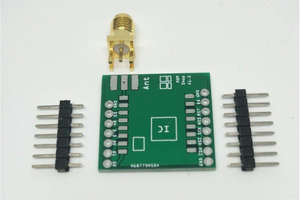 RFM95 or SX1276 LoRa Module PCB Breakout Board 1