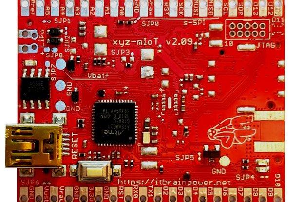 xyz-mIoT ARM0 basic low power IoT shield